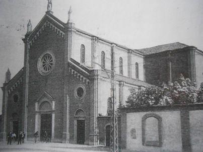 Chiesa 'S.Giovanni', ancora senza campanile.