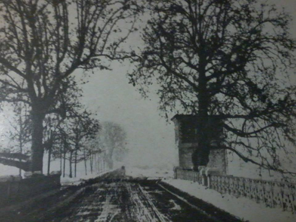 Ponte Bormida sotto la neve foto C. Sterpone
