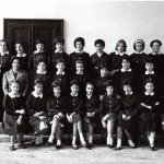 """Scuola Media """"Andrea Vochieri""""- succursale di via Pontida – a.s. 1961/62 Classe seconda."""
