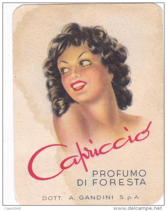 CARTE PARFUME´E CAPRICCIO PROFUMO DI FORESTA A.GANDINI S.P.A. ALESSANDRIA