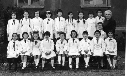 """1966 – Scuola elementare """"G. Galilei"""" – I A"""