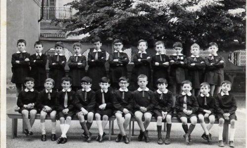 """1968 – Scuola """"E. De Amicis"""" – II D"""