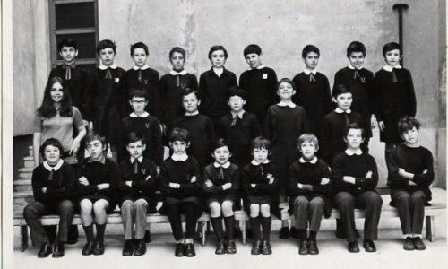 """1971 – Scuola """"E. De Amicis"""" – V D"""