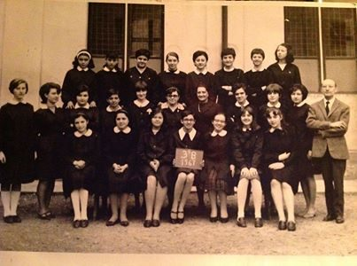 Scuola media Vochieri Terza B 1967