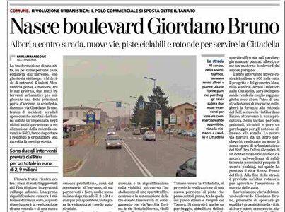 Nasce boulevard Giordano Bruno – 2014