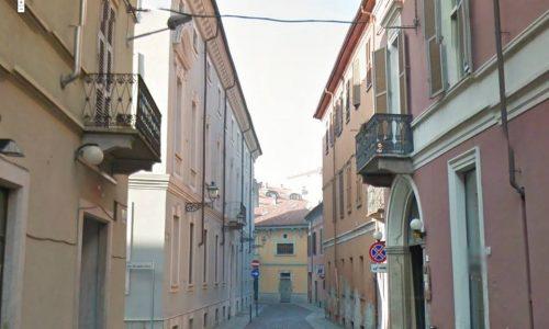 ALESSANDRIA – via del Vescovado – Palazzo Trotti-Bentivoglio
