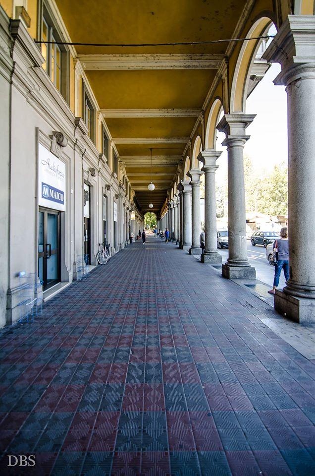 Portici di Piazza Garibaldi foto di Sergio Di