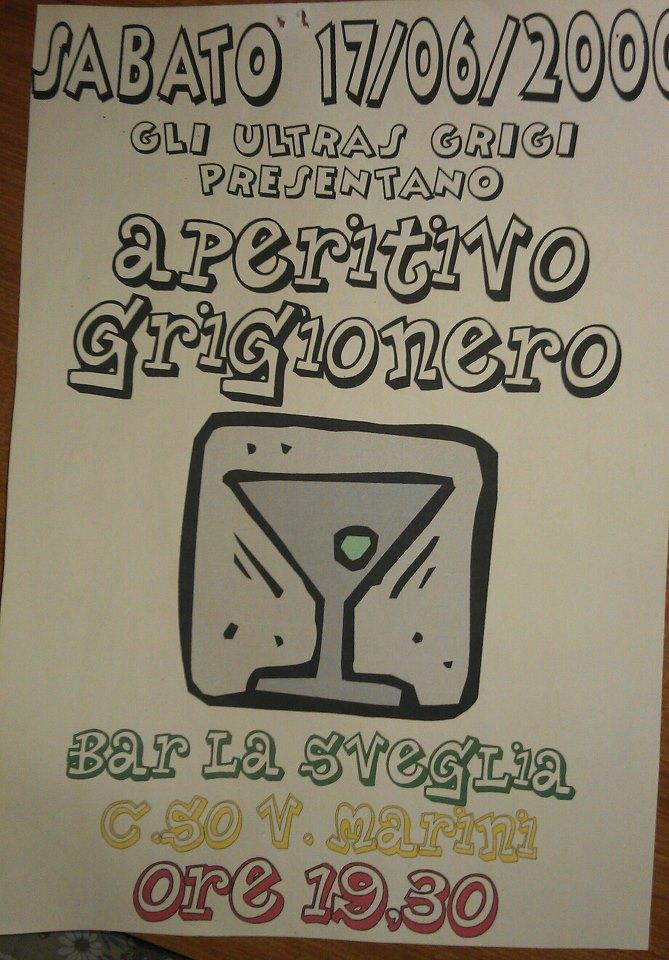 Aperitivo dopo Reggio Emilia - 2000