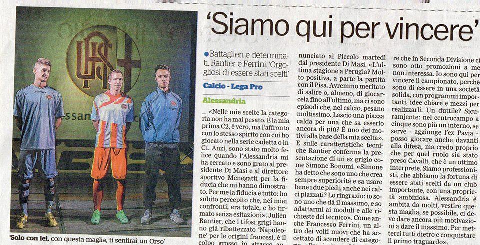 Il Piccolo - 11-07-013 - Presentazione della squadra in Cittadella