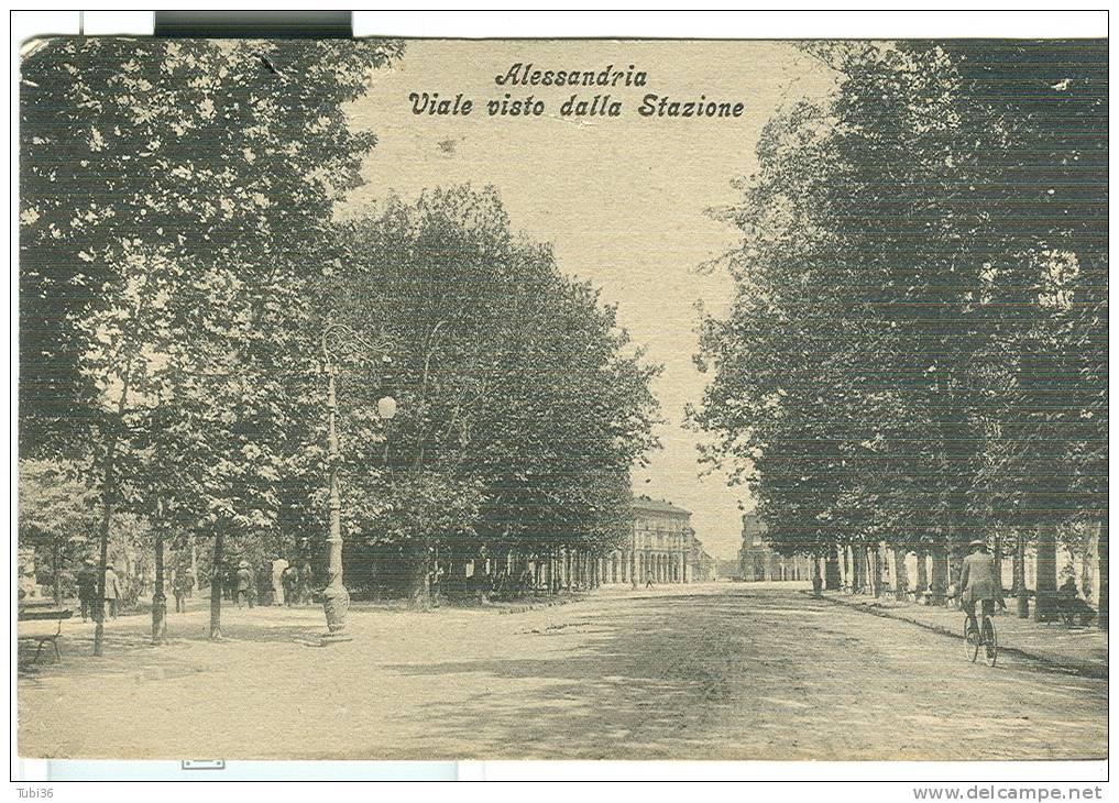 viale alla stazione 1913