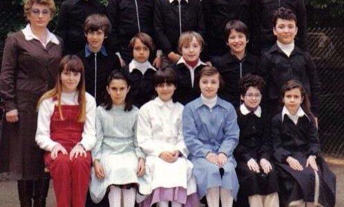 Classe 3A della scuola De Amicis maestra mitica PAOLA CASELLI