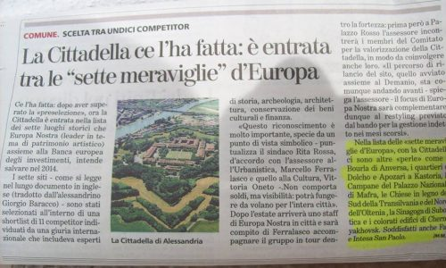 """La Cittadella: una delle """"sette meraviglie d'Europa"""""""