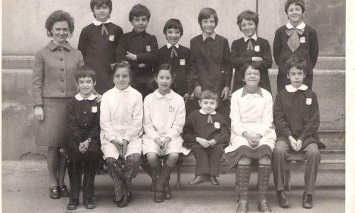 Scuola elementare Galileo Galilei 1974/75.