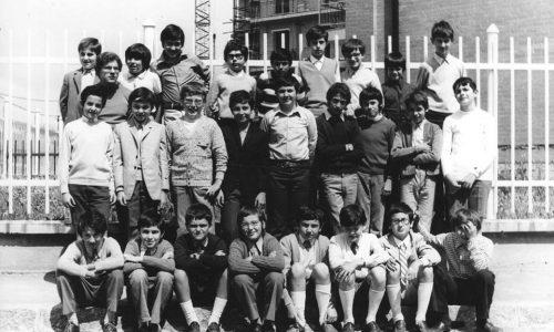 Scuola Media Straneo III C anno 1974