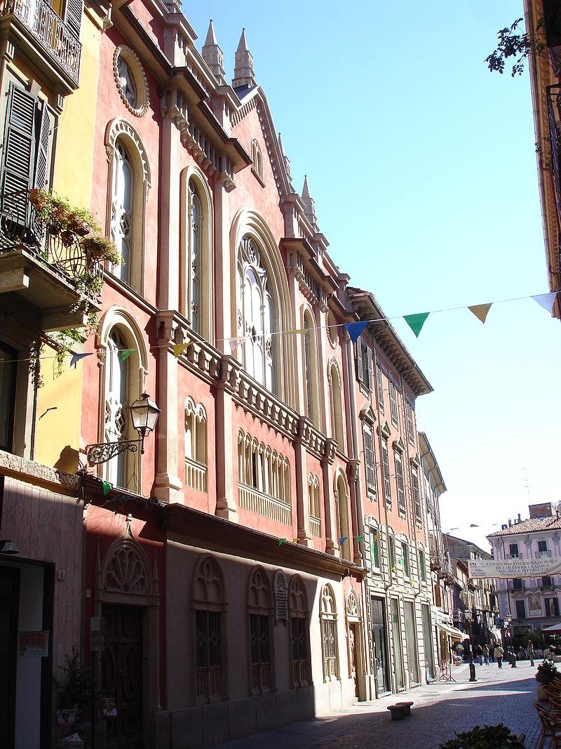La sinagoga di via Milano ad Alessandria