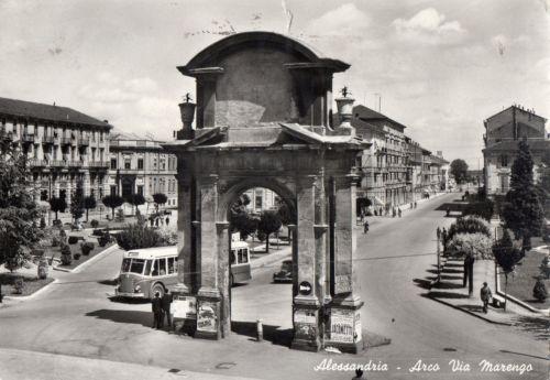 ALESSANDRIA – Arco via Marengo