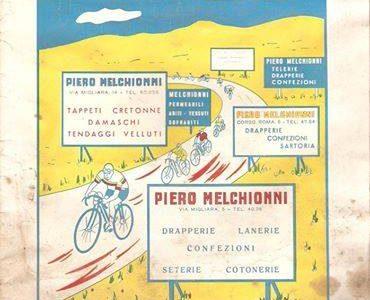 """2° GRAN PREMIO CICLISTICO """"P. MELCHIONNI"""" – 1958"""