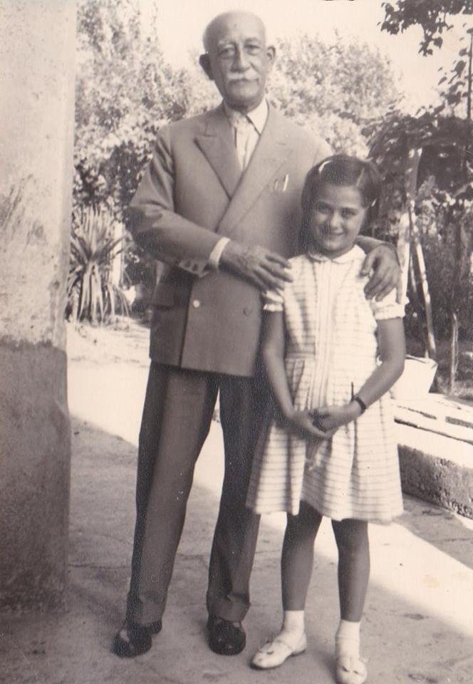 Paola Valfredi io con il sindaco Basile