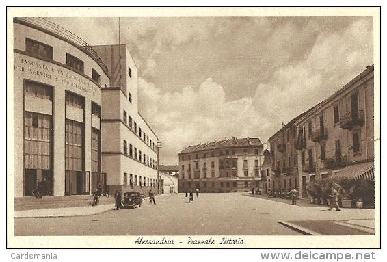 Alessandria-Piazzale Littorio-1942