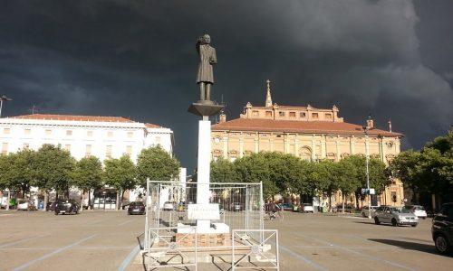 Luglio 2014 –  Temporale e grandine su Alessandria