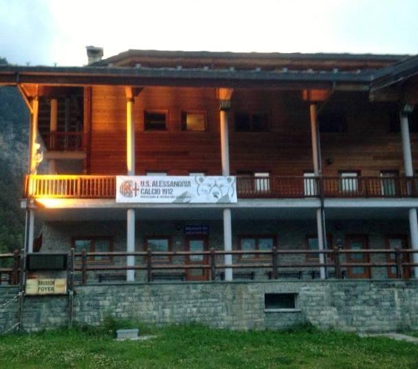 L'Hotel dove i Grigi risiederanno nel ritiro di Brusson (AO)