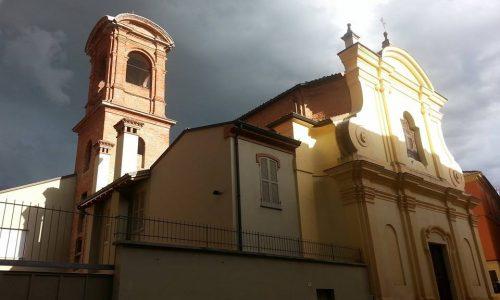Chiesa Santi Sebastiano e Dalmazzo. in via san Dalmazzo