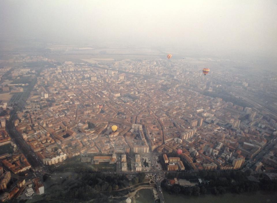 Anni '90 - Raduno di mongolfiere su Alessandria