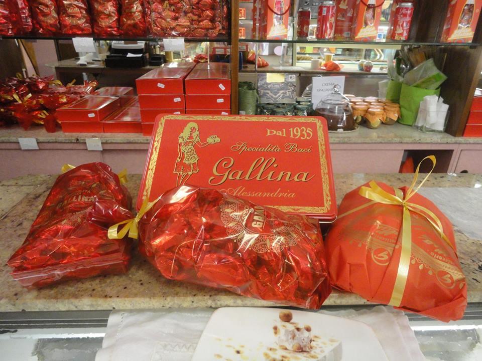 """I """"famosi"""" Baci di Gallina."""