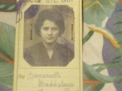 Davide Bocca: Anno 1961 mia madre abbonamento arfea