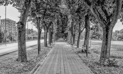 Viale dell'aereoporto (o del cimitero)