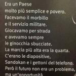 Come eravamo….era un Paese molto più semplice e povero ma il futuro non era un problema ma un'opportunità!