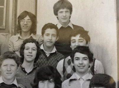 """La mia classe: 1 geometra – Istituto tecnico """"Leonardo da Vinci"""" – 1974-75"""