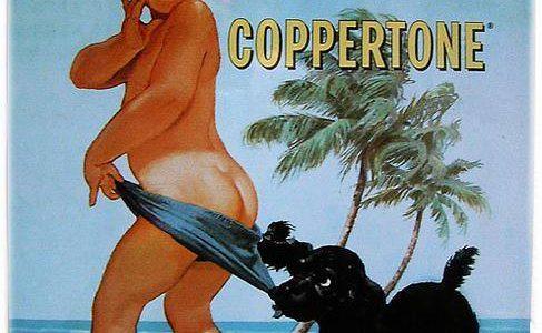 Vecchie pubblicità: Coppertone