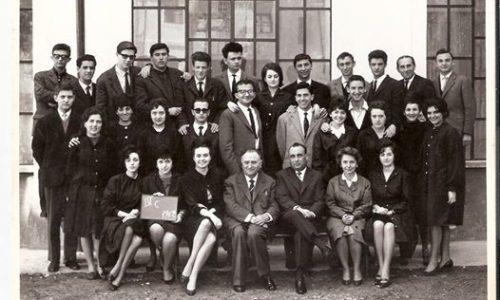 La IV C Istituto Magistrale Diodata Roero Saluzzo anno scolastico 1961-62