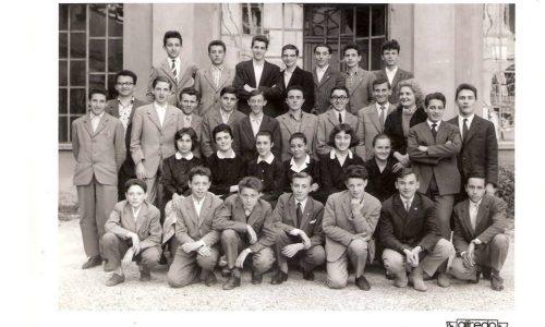 Istituto Magistrale Alessandria. Anno scolastico 1957-58 Classe 1a C