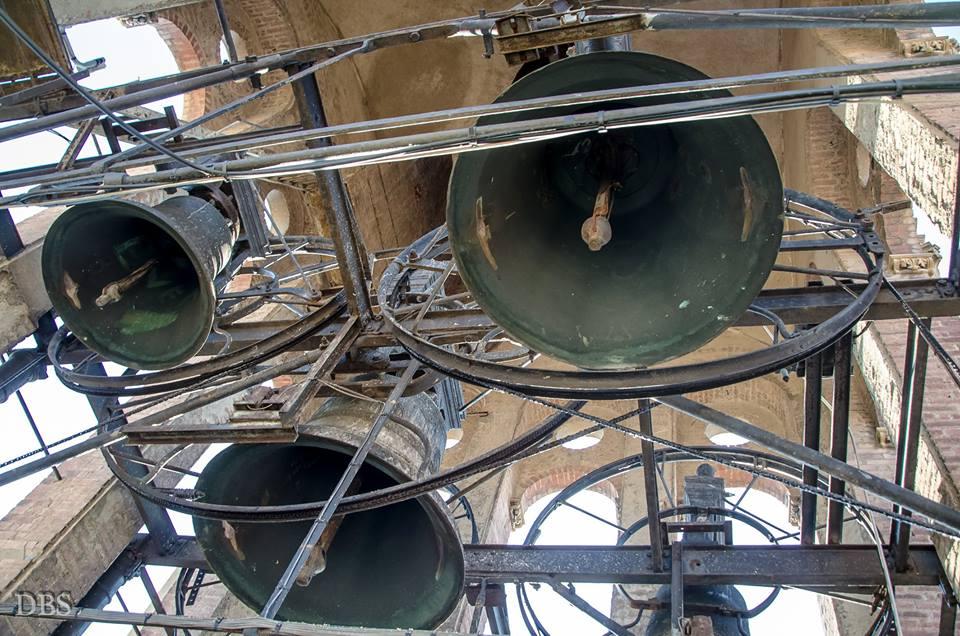 Le campane del Duomo di Alessandria.