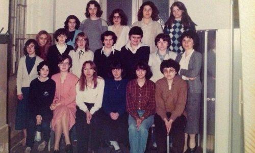 """Istituto """"Migliara"""" 3^ segretaria d'azienda anno 1980"""