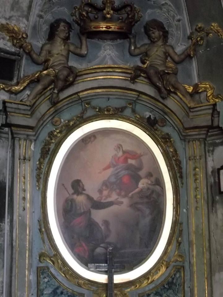 Chiesetta dell' Assunta, via dei Guasco. Interno foto Rosella Perfumo