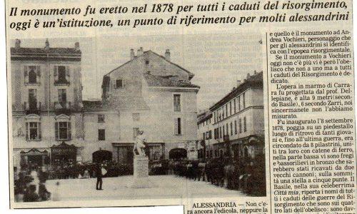 Piazzetta della Lega – Quando non esisteva ancora l'obelisco