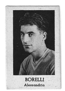 Grigi a un passo dal sogno dello scudetto. Penultima giornata del girone finale del campionato di I Divisione. 15 luglio 1928. Ad Alessandria cade anche il Milan. Finisce 2-0, con gol di Banchero e Borelli (nella foto) che quel giorno segna l'unico gol della sua stagione.