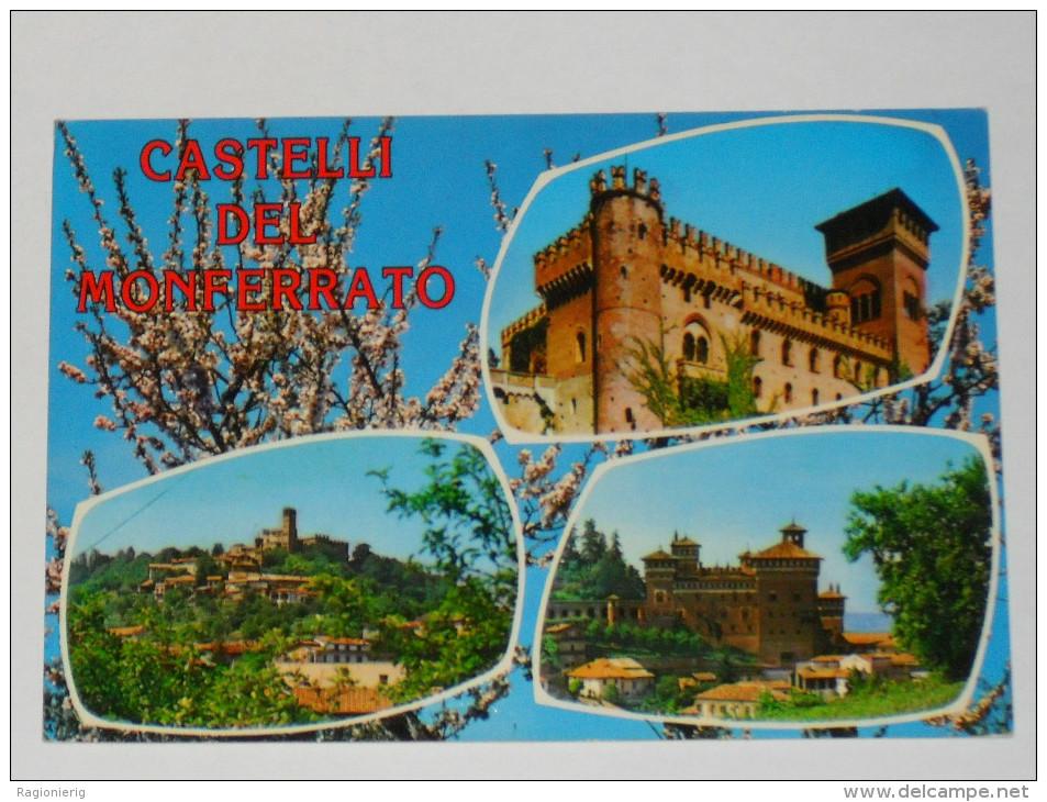 ALESSANDRIA - Castelli del Monferrato - Tre vedute - Camino Gabiano Cereseto