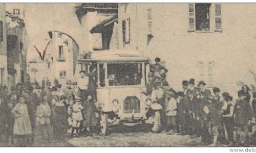 Bassignana – vecchio autobus postale
