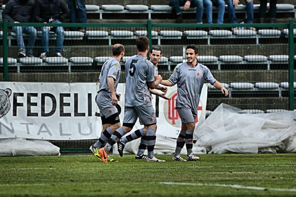 05-01-014 Alessandria-Pergolettese 3-1 Gol di Spighi