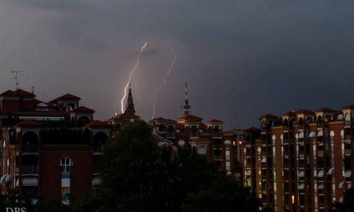 4 agosto 2014 – lampi sulla città