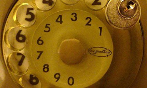 Se anche tu avevi il telefono a disco….chiuso con il lucchetto per non fare le telefonate!