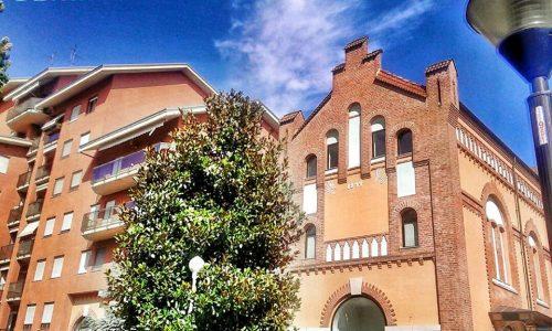 Spalto Borgoglio (La facciata dell'immobile fotografato appartiene al vecchio edificio dell'Officina Elettrica)