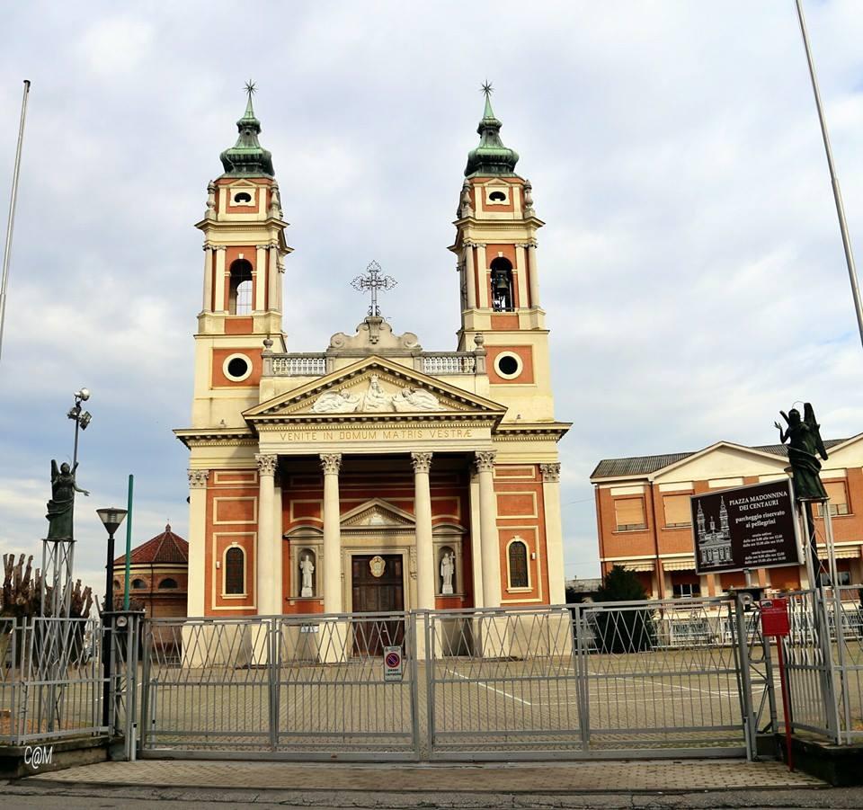 """Castellazzo Bormida """"Santuario Madonnina dei Centauri""""."""