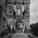 Castello di Camino (Alessandria). Studentato Filosofico dei Padri Somaschi. Ponte Levatoio.