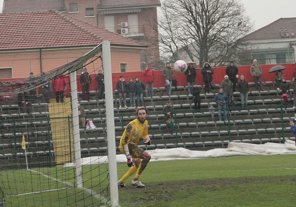 19-01-014 Alessandria-Monza 2-1. Gol di Cavalli. (2)