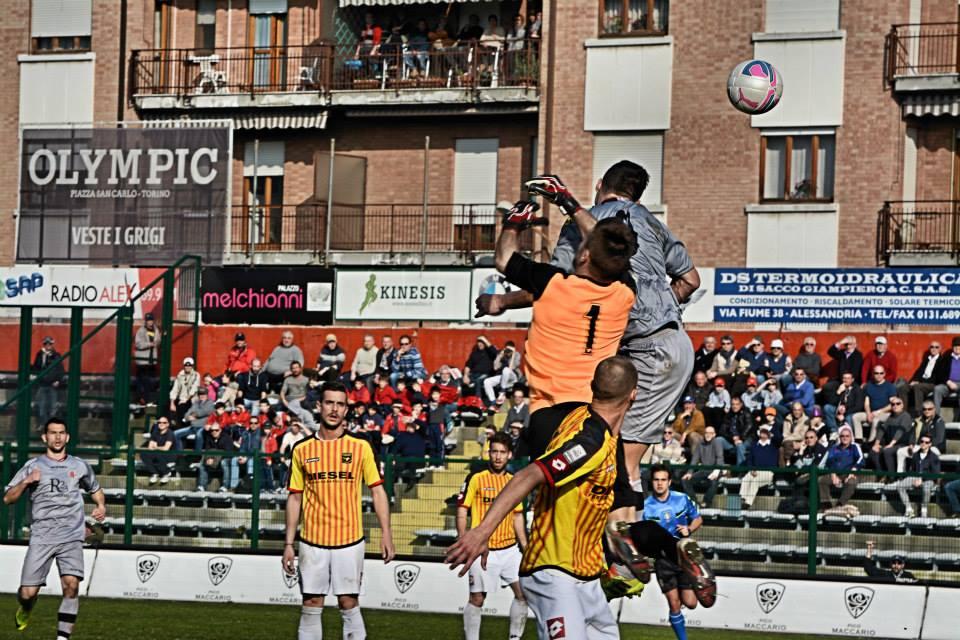 Alessadria - Bassano 2-1 09-03-014 - gol di Marconi